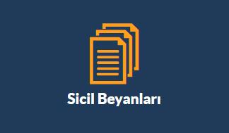 sicil-beyanı